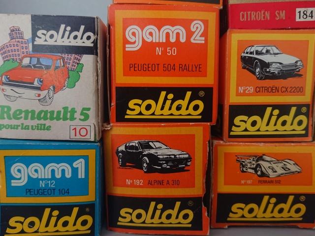 ソリドのミニカー 箱イラストの写真