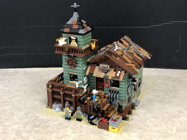 【宅配買取】LEGOアイデア『つり具屋』組立済 他を福岡県福岡市よりお譲りいただきました