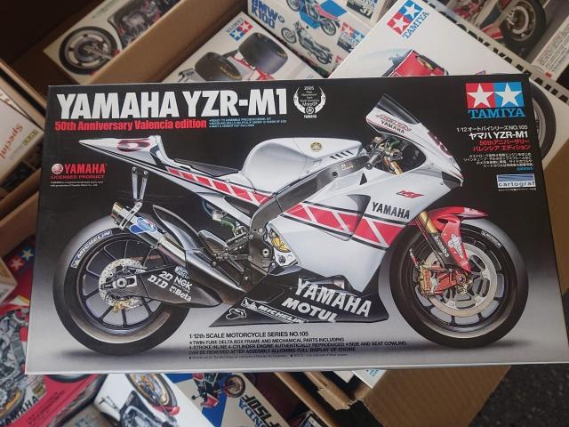 タミヤ 1/12 ヤマハ YZR-M 50thアニバーサリー バレンシアエディション
