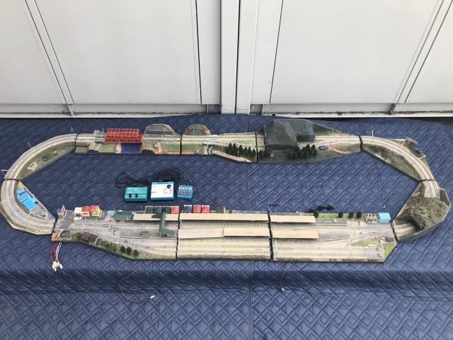 【出張買取】巨大なオリジナルモジュールレイアウトを千葉県柏市よりお譲り頂きました
