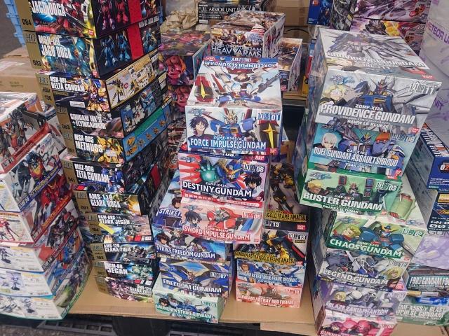 【出張買取】ガンプラ1000点以上を新潟県新潟市の方よりお売りいただきました
