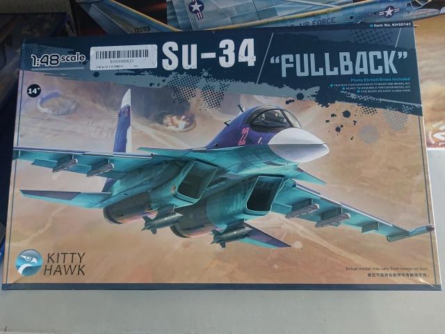キティホークモデル 1/48 Su-34 フルバック