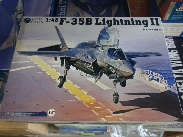 キティホークモデル 1/48 F-35B Ligttning II