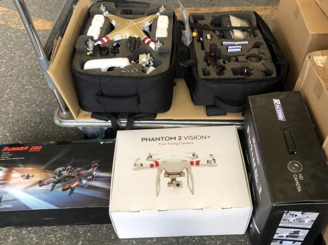 【宅配買取】PHANTOM2 VISION+、WALKERA Runner 250 ADVANCEなどドローン多数を静岡県浜松市よりお売りいただきました