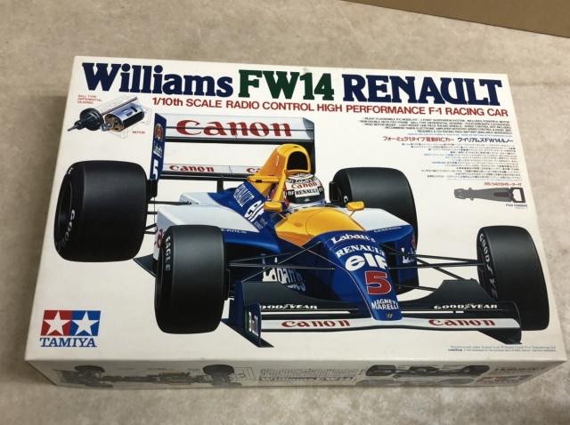 タミヤ ウィリアムズFW14ルノー (58105)