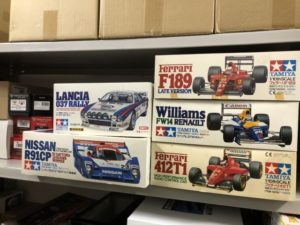 【宅配買取】タミヤ ウィリアムズFW14ルノー、ニッサンR91CPなど高知県高知市の方よりお売りいただきました