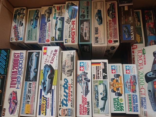 【宅配買取】ナガノ トヨタ2000GT レーシングタイプ、アリイ トヨタ 2000-GT スペシャルターボなど自動車プラモを大量に宮城県石巻市の方よりお譲りいただきました