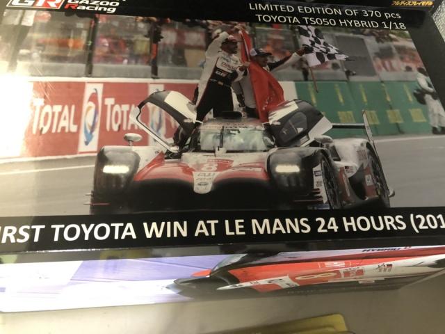 【宅配買取】チーム関係者限定トヨタ GAZOO レーシング TS050を東京都の方よりお譲りいただきました