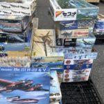 【出張買取】戦闘機プラモを栃木県佐野市の方よりお譲りいただきました。