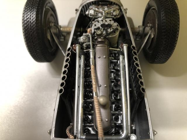 アウトウニオンタイプC スーパーチャージャー付V型16気筒エンジン