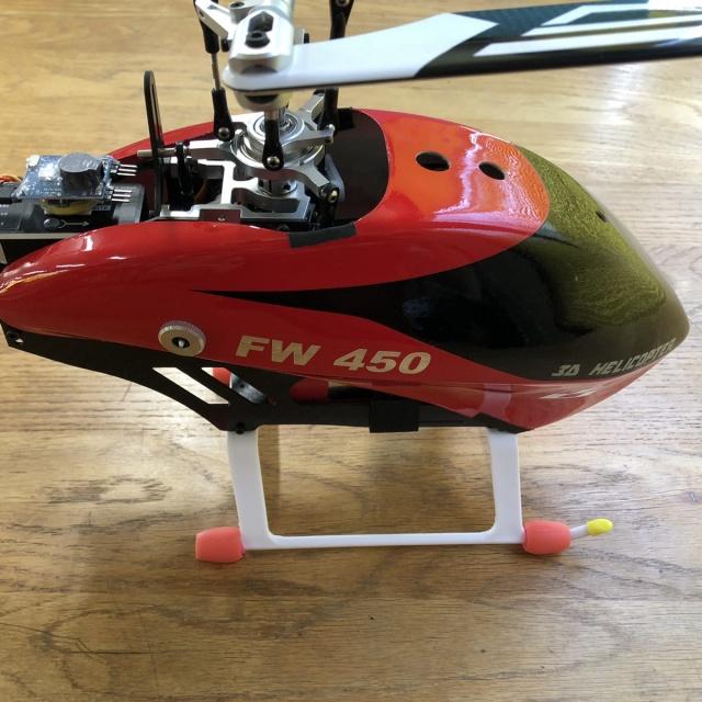 FW450 RCヘリ