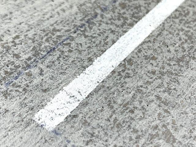 19.白線部分のアップ写真