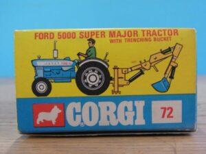 コーギートイズ フォード 5000 スーパーメジャートラクター