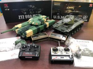 ラジコン戦車 ヘンロン ZTZ99MBT US M41A3