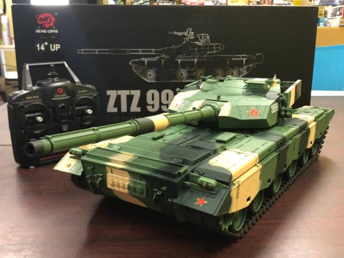 ラジコン戦車 ヘンロン ZTZ 99 MBT