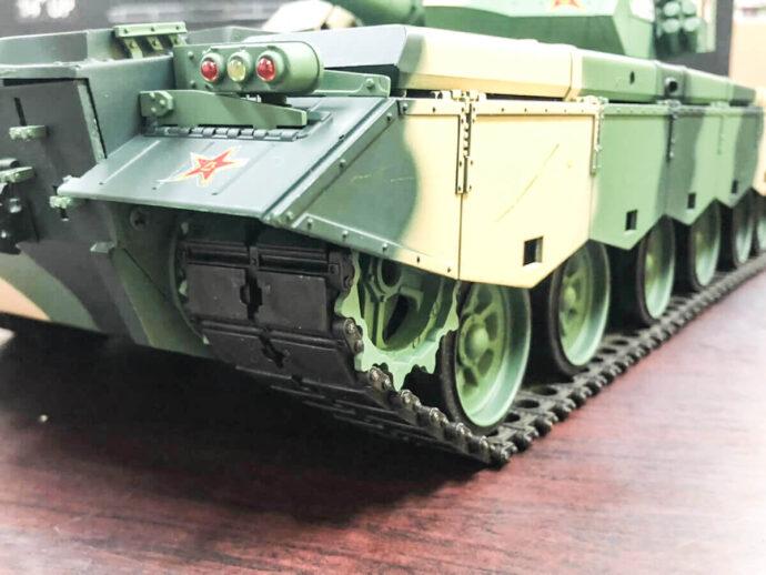 ラジコン戦車 ヘンロン ZTZ 99 MBT キャタピラー