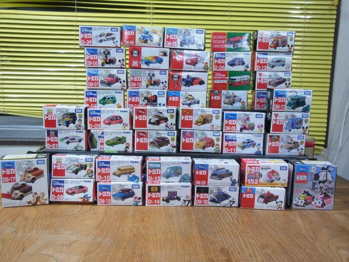 【宅配買取】ドリームスター ジャック・スケリントンなどディズニートミカ 51台を滋賀県彦根市からお譲りいただきました